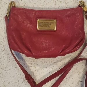 Cherry red Mark Jacobs crossbody bag
